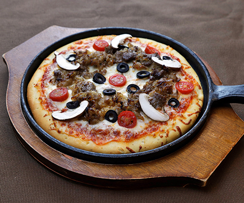 Pizza bò Bulgogy